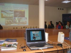 prezentacja w sali konferencyjnej